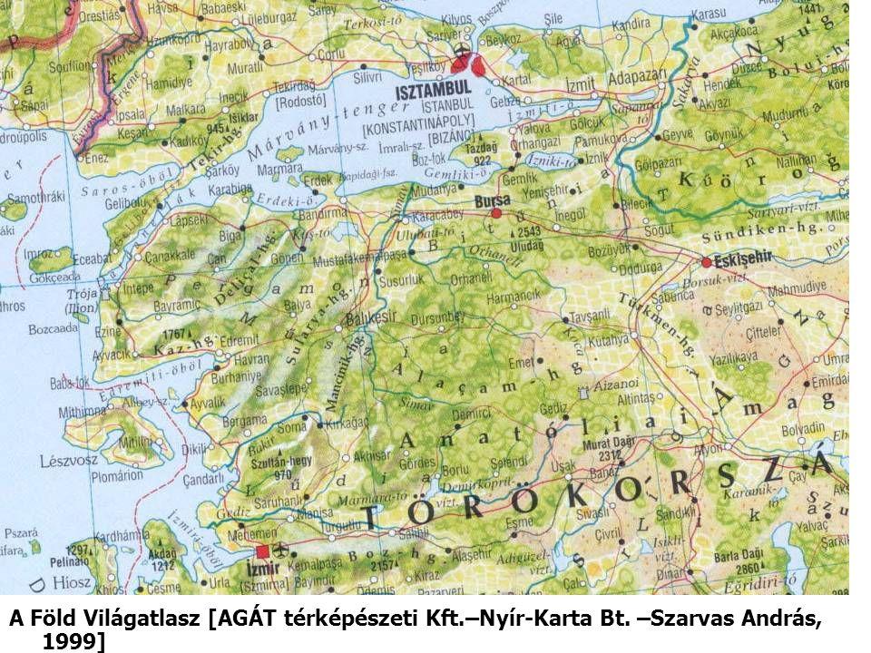A Föld Világatlasz [AGÁT térképészeti Kft. –Nyír-Karta Bt